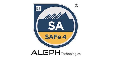 Leading SAFe - SAFe Agilist(SA) Certification Workshop - New York tickets