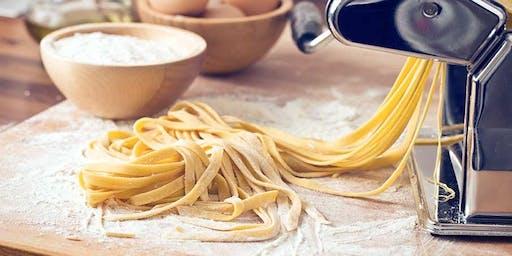 Pasta making - fettucine & spaghetti