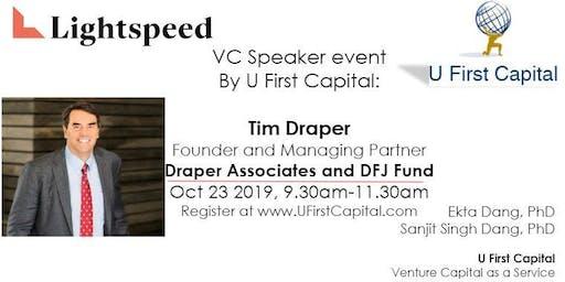 VC Speaker: Tim Draper's Investment Strategy