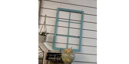 Vintage Style Window Frame Build