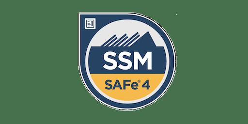 SAFe® Scrum Master (SSM) Certification Workshop - Boston, Massachusetts