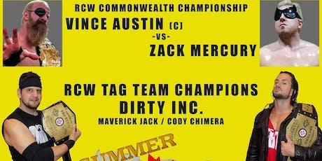 Real Canadian Wrestling - Summer Stampede tickets