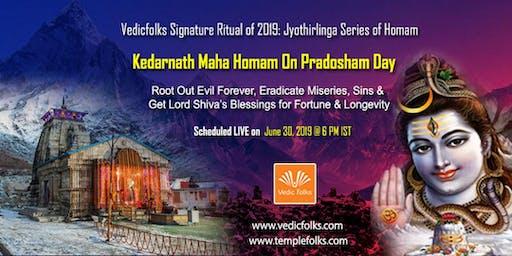 Pradosham Special Kedarnath Maha Homam