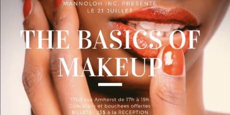 THE BASICS OF MAKEUP tickets