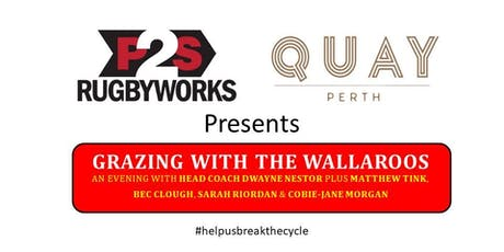 Grazing with the Wallaroos tickets
