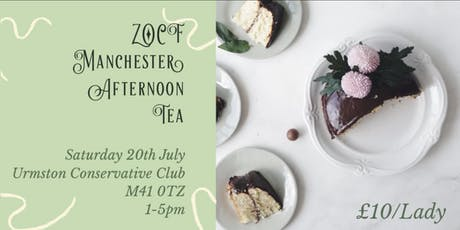 ZOCF Manchester Afternoon Tea Party  tickets