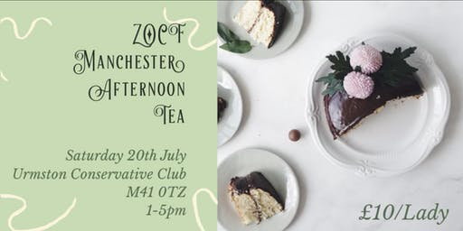 ZOCF Manchester Afternoon Tea Party