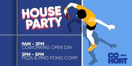 Free Coworking Open Day + Ping Pong Comp