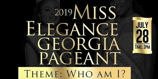 2019 Miss Elegance Georgia Pageant