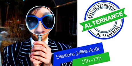Les Ateliers #Alternance - sessions juillet-août 2019 entradas