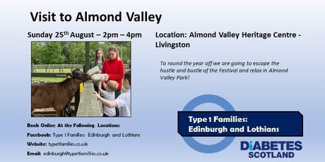 Type 1 Families at Almond Valley tickets