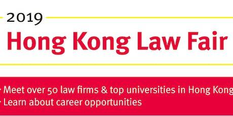 2019 Hong Kong Law Fair Tickets