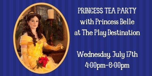 Princess Tea Party With Belle