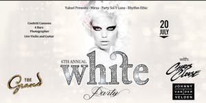 The Annual WHITE PARTY featuring live performance by...