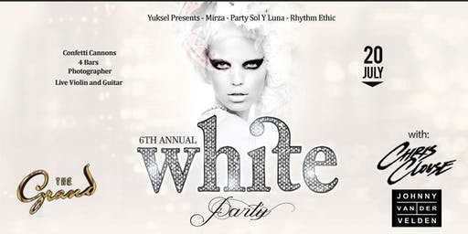 The Annual WHITE PARTY featuring live performance by CHRIS CLOUSE  | 07.20.19