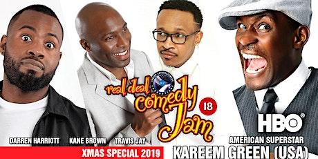 Real Deal Comedy Jam -Xmas Special Birmingham tickets