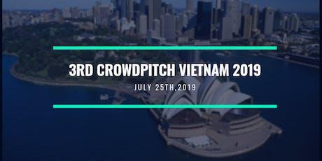 3RD CROWDPITCH VIETNAM 2019 tickets