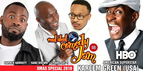 Real Deal Comedy Jam -Xmas Special Nottingham  tickets