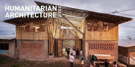 Humanitarian Architecture Week 2019: Public Interest Design Masterclass tickets