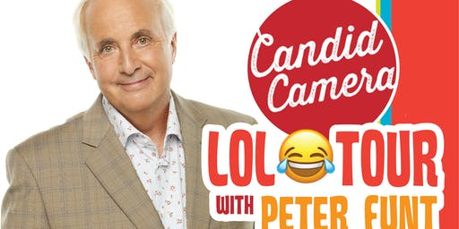 """""""Candid Camera's LOL Tour With Peter Funt"""""""