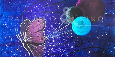 Painting & Vino: 'Butterfly Universe'
