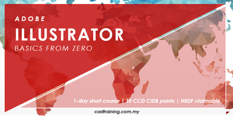 Illustrator Basics from Zero | 1-day Short Course | 10 CCD CIDB points tickets