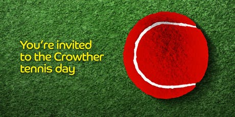 Crowther Tennis Day tickets