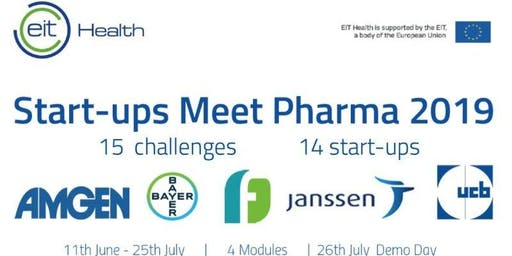 Demo Day | 2019 EIT Health Startups Meet Pharma