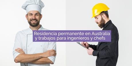 Residencia permanente en Australia, y trabajos para ingenieros y chefs entradas