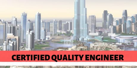Certified Quality Engineer tickets
