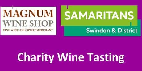 Wine Tasting - Swindon & District Samaritans tickets