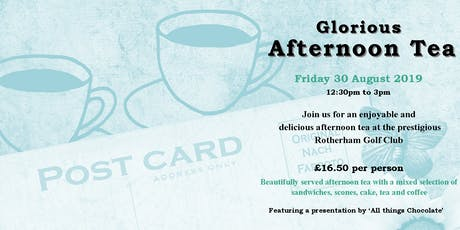 Glorious Afternoon Tea tickets