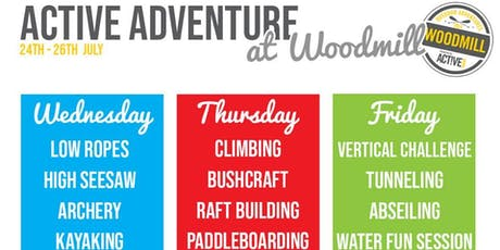 Woodmill Active Adventure tickets