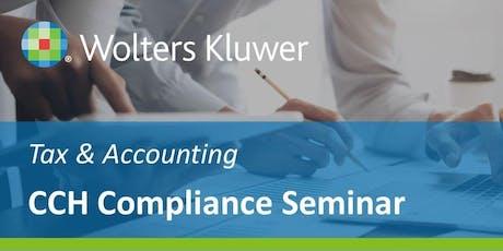 CCH Compliance Seminar (London - 6th November) tickets