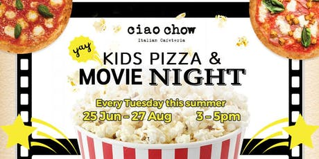 Kids Pizza & Movie Night tickets