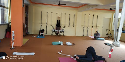 Iyengar Yoga Workshop In Rishikesh India