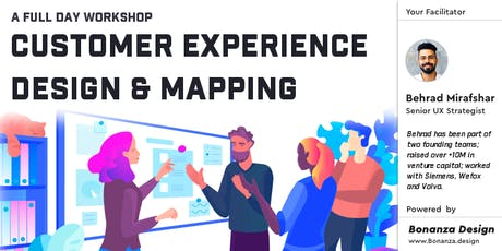 UX - Customer Experience Design and Mapping | 1-day workshop | Berlin tickets