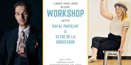 Lindy Hop and slow Workshop Munich