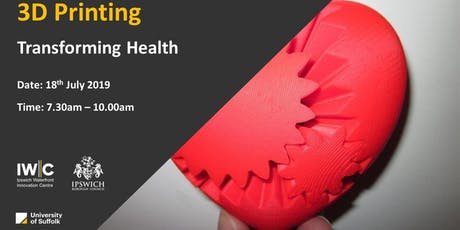 Transforming Lives – How can 3D printing revolutionise Healthcare?  tickets