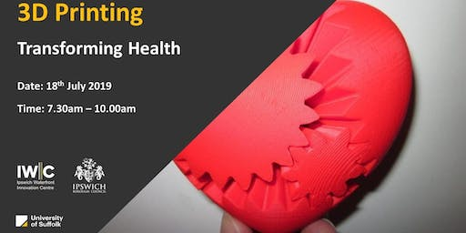 Transforming Lives – How can 3D printing revolutionise Healthcare?