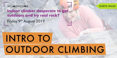 Intro to Outdoor Climbing - North Wales tickets