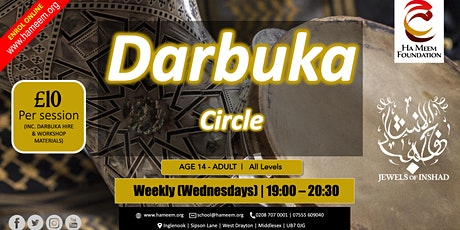 Darbuka Circle tickets