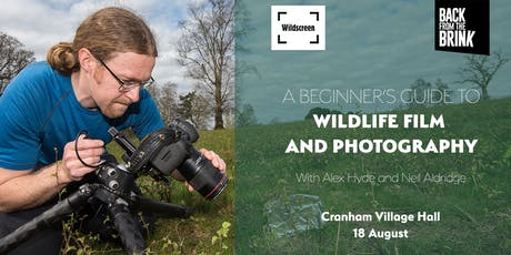 Beginner's guide to wildlife film and photography - 18 August tickets