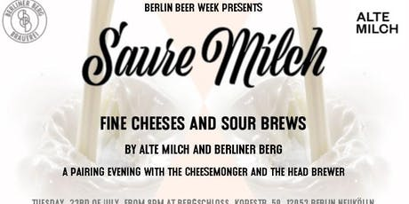 Saure Milch - Fine Cheeses and Sour Brews tickets
