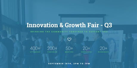 Innovation & Growth Fair - Q3 tickets