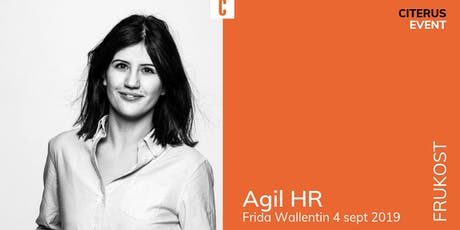 Agil HR-frukost tickets