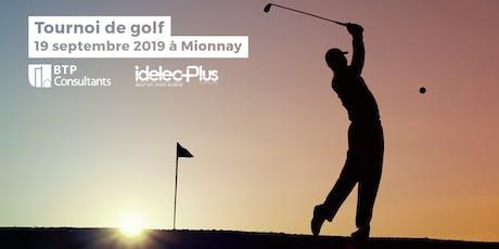Tournoi de golf à Mionnay | 20 septembre 2019  billets