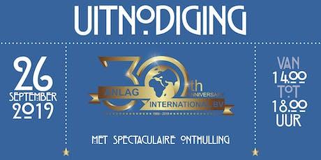 Symposium ANLAG 30 jaar tickets