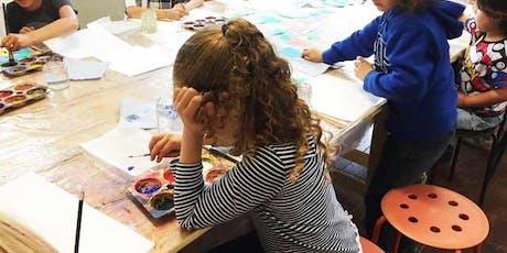 KIDS ART CLUB - SEPT 'Marbling' tickets
