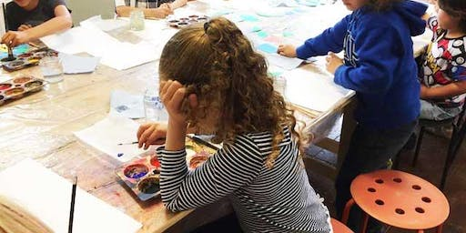 KIDS ART CLUB - SEPT 'Marbling'